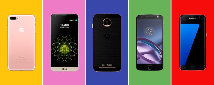 Топ 5: лучшие смартфоны 2017 года