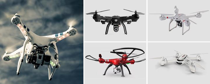 Квадробатлы: 4 доступных, но хороших квадрокоптера с камерой