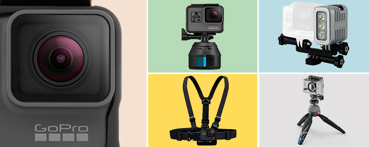 Лучшие аксессуары 2017 года для экшн-камеры GoPro