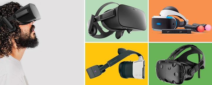 Лучшие гарнитуры виртуальной реальности 2017 года