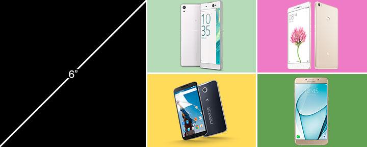Лучшие 6 дюймовые смартфоны 2017 года