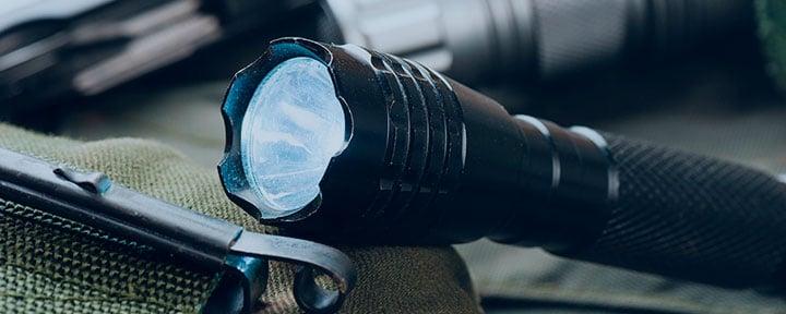 Топ 4: лучшие тактические фонари