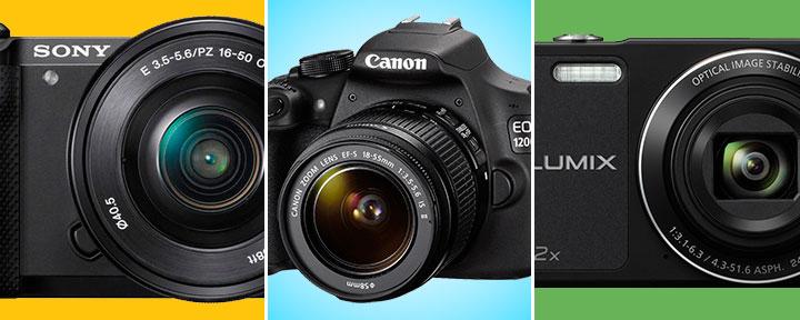 Лучшие фотоаппараты для прогулок