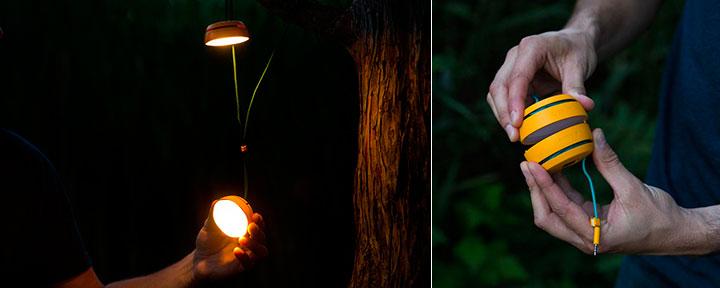 лампа BioLite SiteLight
