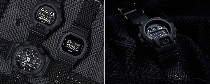 Casio G-SHOCK Military Black