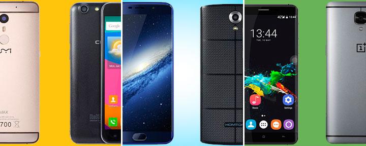 10 китайских смартфонов, которые нам нужны