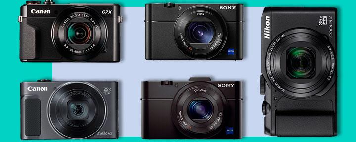 меняем камеру смартфона на компактные фотокамеры