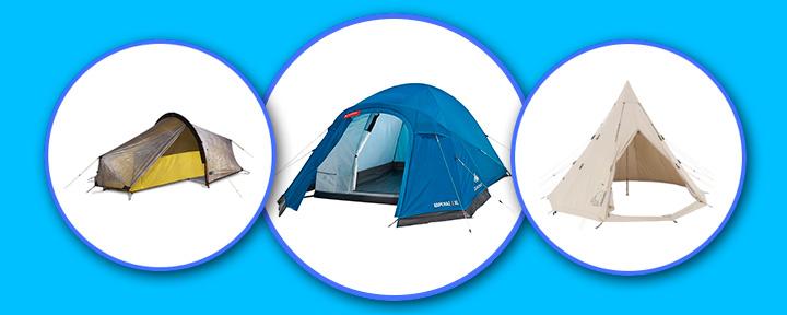 Лучшие палатки для кемпинга
