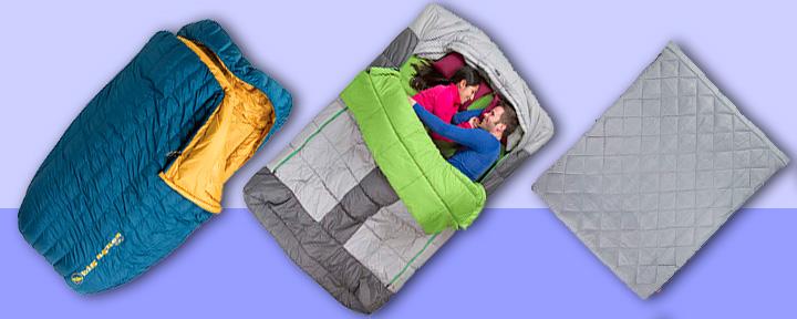 двухместные спальные мешки