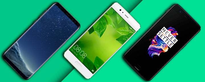 лучшие Android-смартфоны