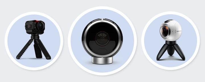 ТОП-15 камер 360-градусов в 2017 году