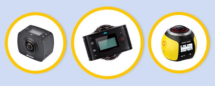 Топ 5 камер 360-градусов с Aliexpress в 2017 году