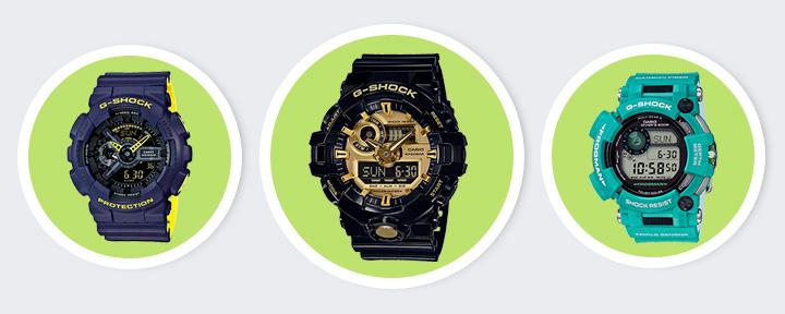Топ 6 лучшие часы Casio G-SHOCK — Рейтинг 2018 года