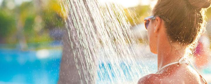 лучший походный душ для кемпинга и дачи