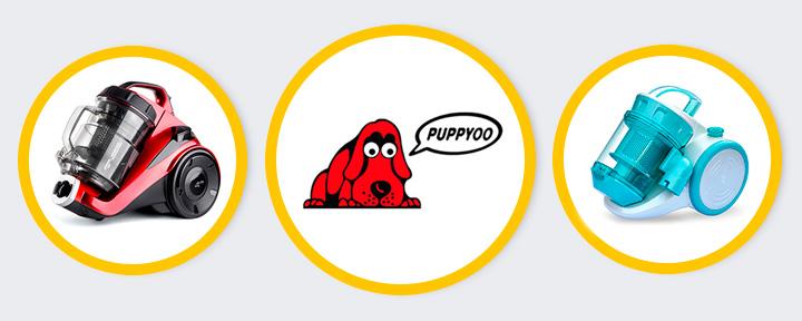 5 лучших циклонных пылесосов Puppyoo — Рейтинг 2017 года