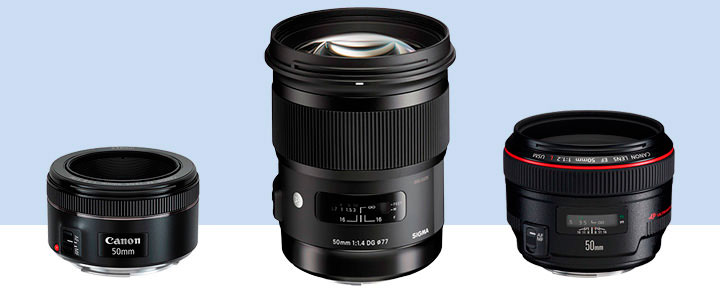The ranking of the best 50 mm lens for Canon cameras