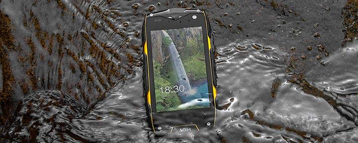 Обзор смартфона AGM A7