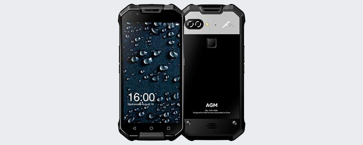 Обзор смартфона AGM X2