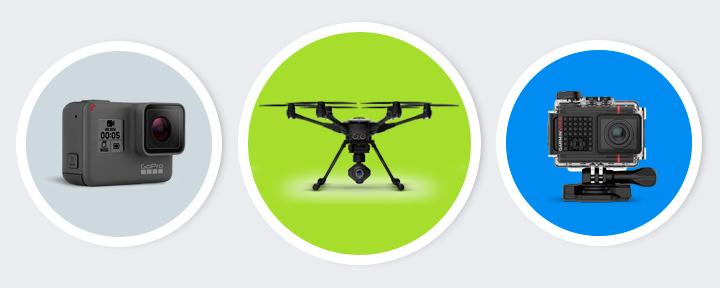 Топ 7 лучшие экшн-камеры и дроны для съемки видео