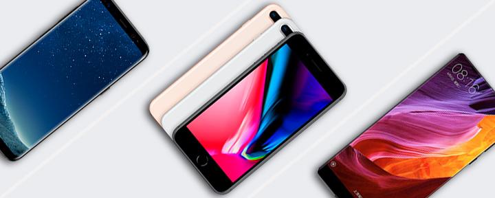 iPhone 8 Plus vs. Samsung Galaxy S8 vs. Xiaomi MI MIX