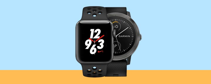 Apple Watch Series 3 vs. Garmin Vivoactive 3