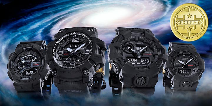 Casio G-Shock Big Bang Black