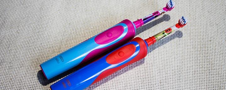 Детские электрические зубные щетки Oral-B