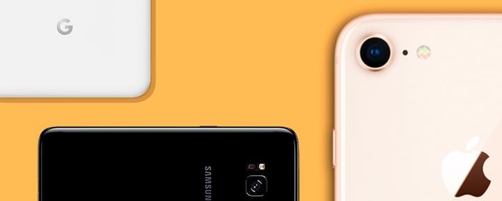 iPhone 8 vs. Galaxy S8 vs. Pixel 2