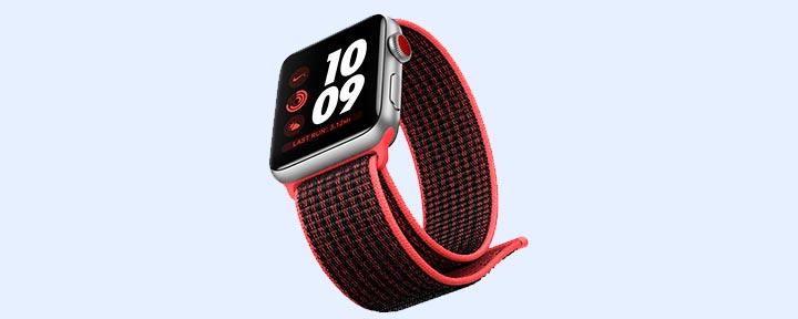 самозатягивающися ремешок для Apple Watch