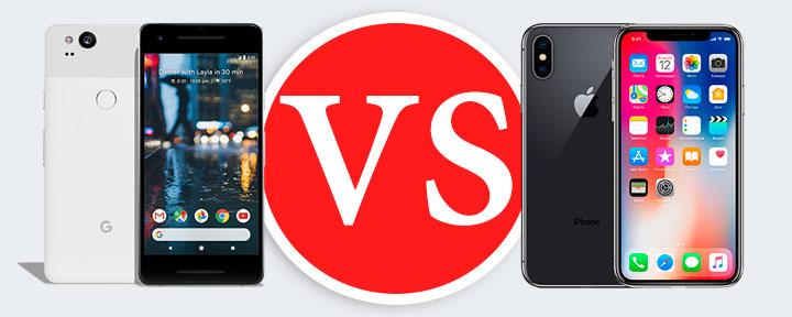 Google Pixel 2 или iPhone X