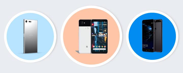 Лучший Android смартфон 2018 года от Google, Samsung, HTC