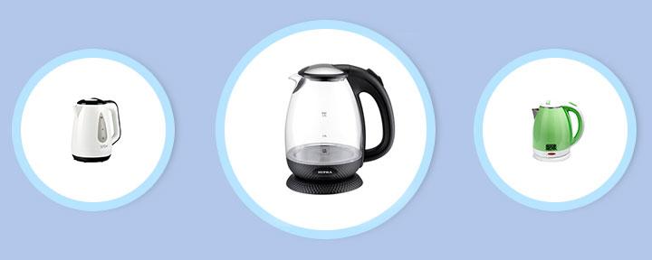 5 лучших электрических чайников до 1000 рублей