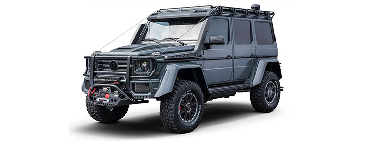 Mercedes Brabus G550 Adventure 4×v4×2