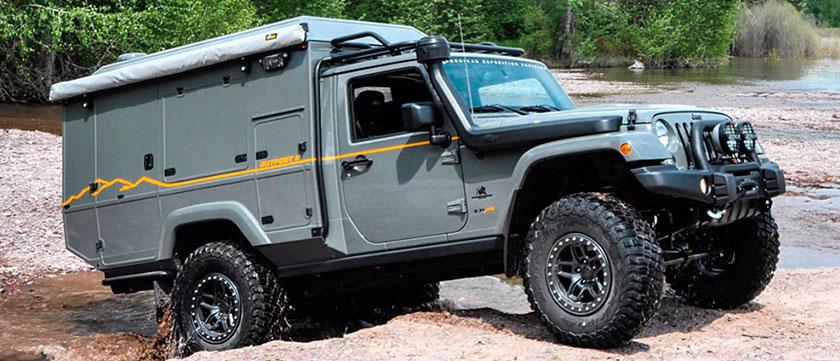 AEV Jeep Wrangler OutРost II