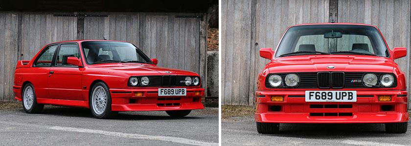 BMW E30 M3 Evolution II 1988 года