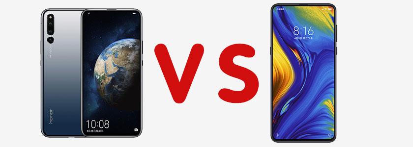 Huawei Honor Magic 2 vs. Xiaomi Mi Mix 3