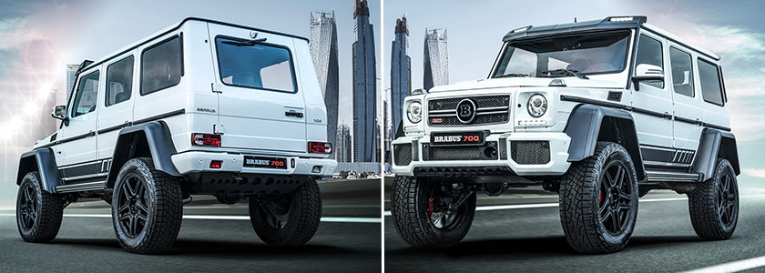 Brabus 700 4×4² «One of Ten» Final Edition