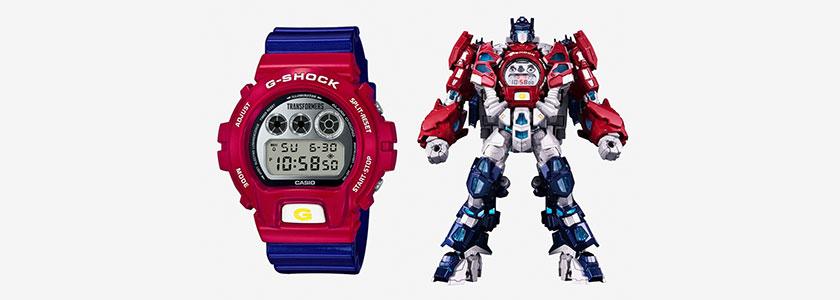 G-Shock X Transformers DW6900-IV
