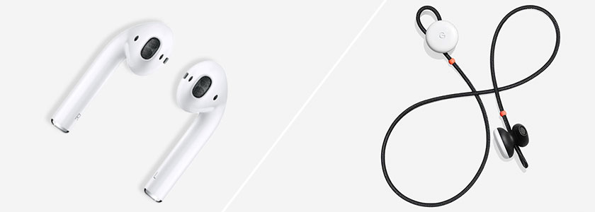 AirPods vs Pixel Buds
