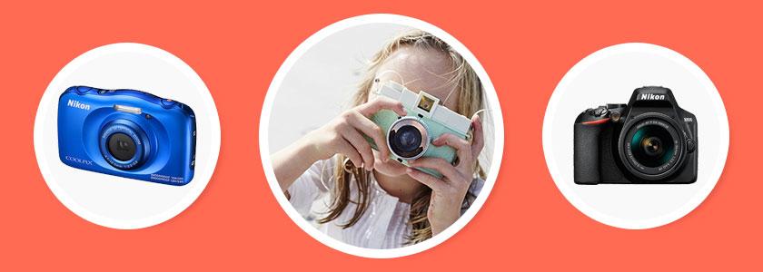 Лучший фотоаппарат 2019 года для детей