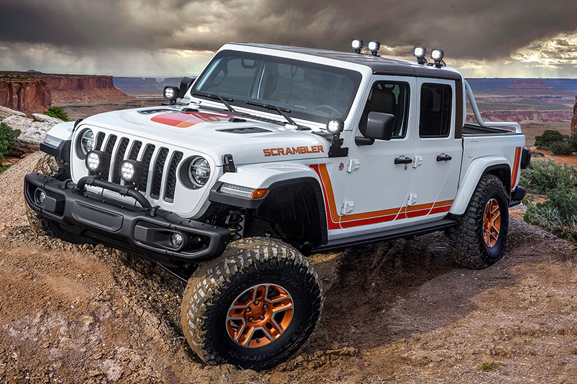Концепт Jeep Gladiator JT Scrambler 2019 года