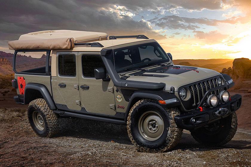 Концепт Jeep Gladiator «Wayout» 2019 года