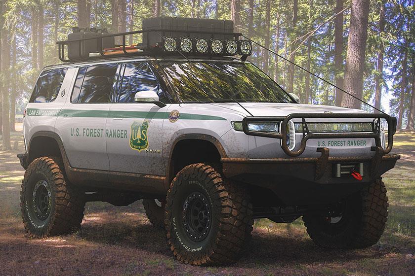 Rivian R1S U.S. Forest Ranger Edition