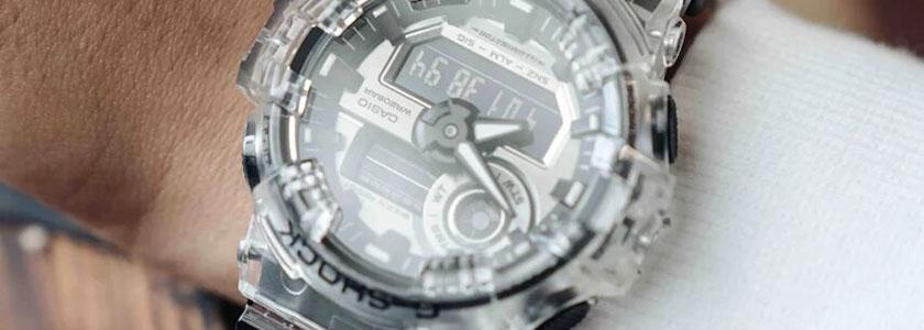 Casio G-Shock Skeleton Clear