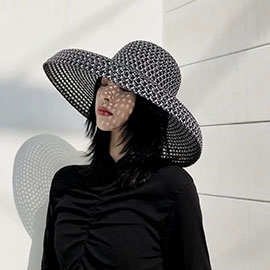 Beautiful netted hat