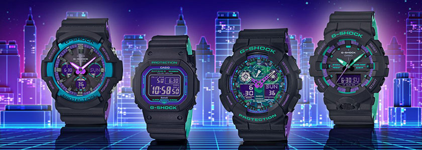 Casio G-SHOCK 90's Color Series