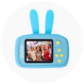 Детская цифровая камера GSMIN Fun Camera с играми