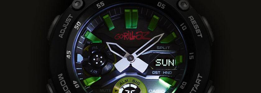 Gorillaz и G-Shock анонсируют новую коллаборацию