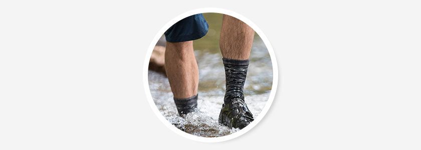 Самые лучшие водонепроницаемые носки для походов