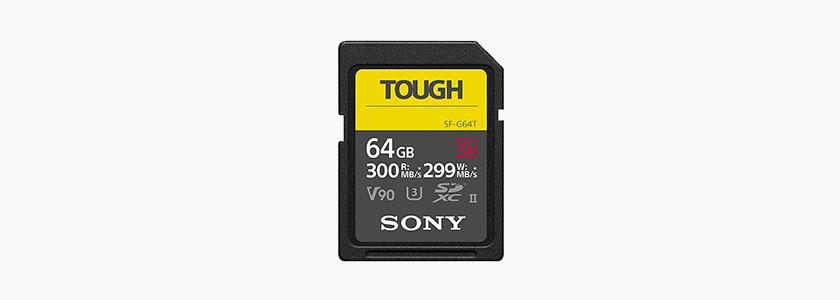 Sony Tough G Series SDXC